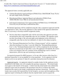 Hud Reo Appraisal Mortgagee Letter chapter 12 property and appraisal requirements 12 1 introduction pdf