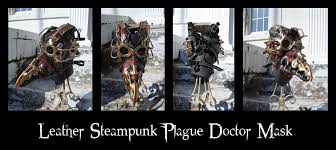 real plague doctor mask leather steunk plague doctor mask by epic leather on deviantart