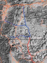 map of oregon nevada nevada california oregon