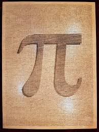 this wooden poster counts pi to 16 500 digits pi r rectangular