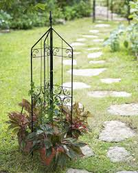 metal garden trellis home outdoor decoration