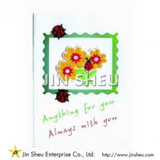 custom greeting cards promotional products supplier jin sheu