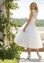 wedding dress ankle length biwmagazine com