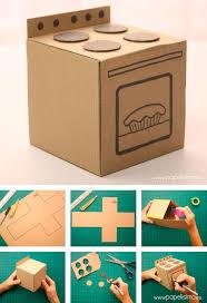 Kitchen Set Toys Box Best 10 Cardboard Kitchen Ideas On Pinterest Cd Burner Free