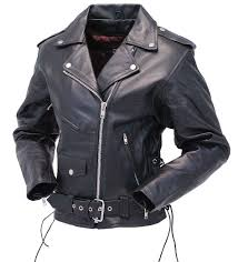 black motorbike jacket ladies leather motorcycle jacket w zip out lining l52lz