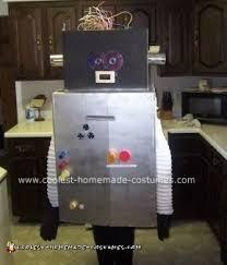 easy diy robot halloween costume