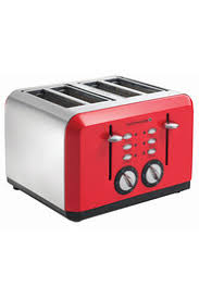 Morphy Richards Accent Toaster Red Toasters Harris Scarfe