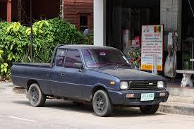 mazda truck file mazda pickup in ubon thailand jpg wikimedia commons