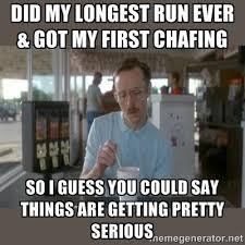 Funny Running Memes - seven myths of marathon training marathons running and meme