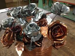 metal roses honolulu sheet metal roses made with for s day