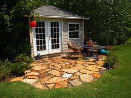 Small Paver Patio by Garden Design Garden Design With Nyc Backyard Patio Bluestone