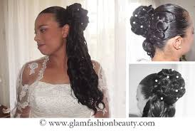 coiffure mariage africaine coiffure de mariée idées coiffure afro tresses vanille