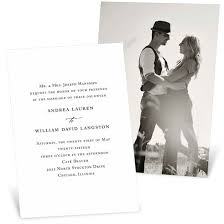picture wedding invitations photo wedding invitations custom designs from pear tree