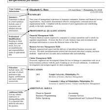 Resume Skills Summary Examples Cover Letter Skill Examples For Resume Customer Service Skill