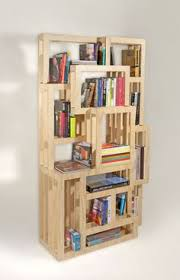 various inimitable homemade bookshelves creative homemade