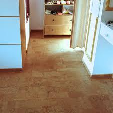 Cork Floor Kitchen by Leather 6mm Glue Down Cork Tile
