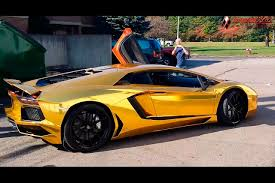 chrome wrapped cars aventador lp700 gold chrome wrap by dbx dbx aventador gold wrap