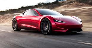 sport cars 2017 tesla ceo elon musk unveils a surprise new car a new roadster