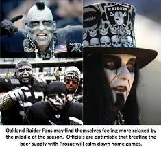 Raiders Halloween Costume Oakland Raiders Officials Prozac Beer Supply Alleviate