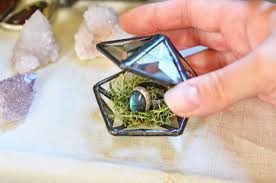 glass wedding rings stained glass wedding ring box ring ksvhs jewellery