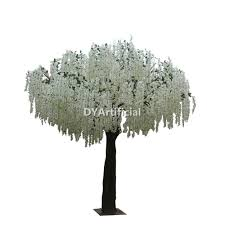 10ft artificial silk white wisteria tree dongyi