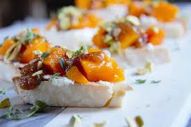 the best thanksgiving appetizer butternut squash bruschetta