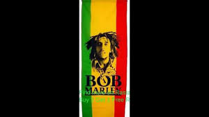 Rasta Flags Bob Marley Photo Vertical Flag 110x50 Cm Green Gold Red Rasta