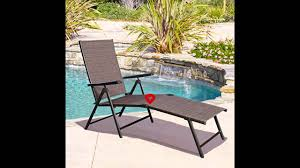 giantex adjustable pool chaise lounge chair recliner outdoor patio