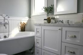 home design awesome white bathroom vanity with gray tile marble