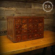 jewelry box 20 vintage 20 drawer wooden parts cabinet jewelry box storage