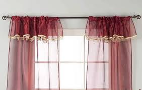 3 Inch Rod Pocket Sheer Curtains 3 Inch Rod Pocket Sheer Curtains Window Treatment Curtains