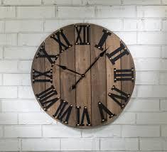 functional wooden wall clock tripar international inc