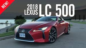 how much is the lexus lc 500 going to cost 2018 lexus lc 500 first drive review road test youtube