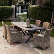 Round Patio Furniture Set Patio Table Remarkable Design Outdoor Dining Table And Chairs