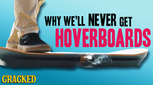 lexus hoverboard footage why we u0027ll never get hoverboards youtube