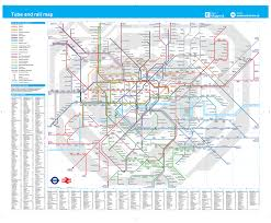 Tube Map London Download London Train And Tube Map Major Tourist Attractions Maps