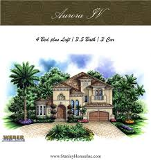 aurora iv stanley homes inc floor plans brevard florida home