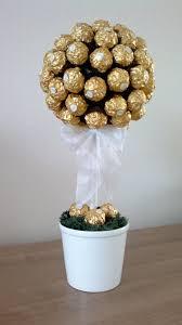 60 hochzeitstag geschenke tree ferrero rocher bäumchen candybar rocher baum