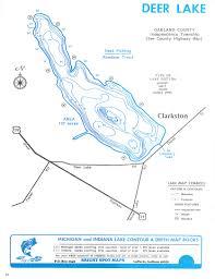 Michigan Lake Maps by Clarkston Mi Real Estate Oakland County Michigan Lakefront Homes