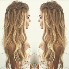 easy hairstyles not braids waterfall braid boho pinterest easy hairstyles tutorials