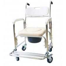 Shower Chair On Wheels Commode Shower Chair With Wheels Commodes U0026 Accessories Bath