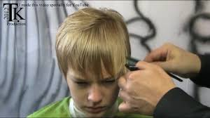 youtube young boys getting haircuts boy oh boy i cut my hair job s haircut by theo knoop with