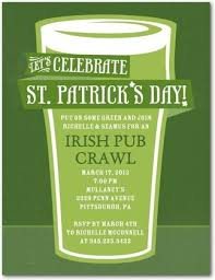 9 best st patrick u0027s day invitations images on pinterest patrick