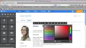 Resume Web Templates Personal Resume Website Resume Website Examples Resume Format