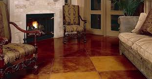 why concrete floor finishes is better than wooden floor finishes