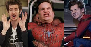 Meme Tobey Maguire - tom vs andrew vs tobey 20 funniest spider men memes that will