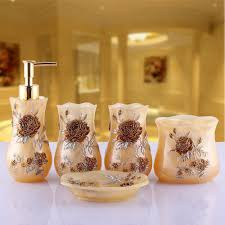 Cheap Bathroom Sets by 2017 Luxury Royal Design Bathroom Set Handmade Diy Bath Accessory