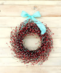Shabby Chic Wedding Gifts by Spring Wreath Coral Pink U0026 Teal Door Wreath Summer Door Decor