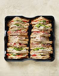 picnic food ideas sandwiches snacks vegetarian m s gluten free classic sandwich selection 14 quarters