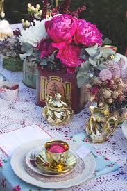 festive tea party inspiration polka dot bride